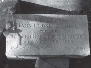 Lady Mary's resting place in Glasnevin, Dublin